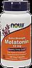 Мелатонин Now Foods Melatonin 10 мг, 100 caps