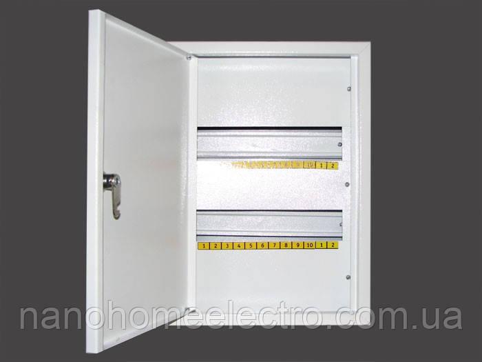 Шкаф металлический распределительный на 24 автомата (Накладной; Внутренний)