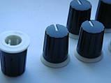 Ручка пластикова 19x15.6мм енкодера, потенціометра для пультів, контролерів, фото 3
