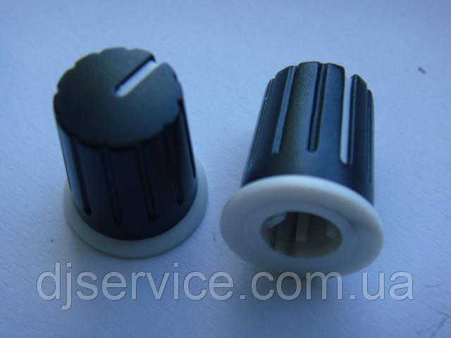 Ручка пластикова 19x15.6мм енкодера, потенціометра для пультів, контролерів