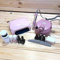 Набор для маникюра Kodi Professional с лампой CCFL+LED 36 Вт и фрезером  ZS-601
