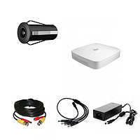 Комплект видеонаблюдения Dahua Proffesional 1 внутренняя камера вместо глазка