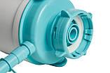 Помпа для воды механическая HotFrost C1 с ручкой бирюзовая, фото 4