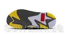 "✔️ Кроссовки Puma Rs-x X Transformers Bumblebee ""Quiet Shade/Cyber Yellow/White"", фото 3"