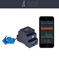 Умный счетчик электроэнергии c WiFi D101, однофазный, стандартная версия съемный, фото 1