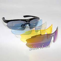 Очки  защитные Oakley M-Frame Hybride Polarization 5 линз с поляризацией