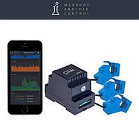 Умный счетчик электроэнергии c WiFi D103, трехфазный, стандартная версия съемный, фото 1