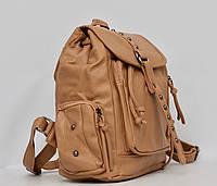 Кожаный женский рюкзак (кожа искусственная) женский рюкзак