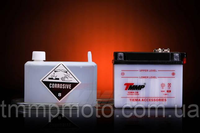 Аккумулятор заливной 12V/4A ТММР 21-го года, фото 2