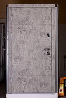 Элитная входная дверь в квартиру с зеркалом сталь 2 мм.