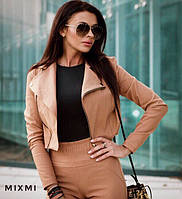 Костюм женский, штаны + пиджак косуха , фото 1