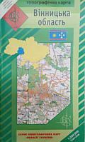 Топографическая карта Винницкой области