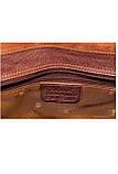 Сумка мужская кожаная катана рыжая 36848., фото 6