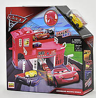 Большой гараж паркинг и машинками Тачки (Cars)