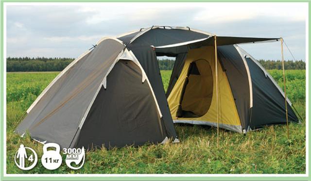 Рюкзаки, палатки.