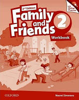 Family and Friends 2 Second Edition Workbook with Online Practice