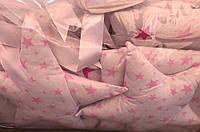 Детское постельное белье для новорожденных в кроватку Bonna Звездное небо