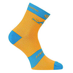 Носки NORTHWAVE BLAZE SOCKS ORANGE FLU/BLUE р.S (36-39)