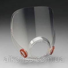3M 6898 / 3M 37006 Стекло для полнолицевой маски респиратора 3M6800 оригинал . 3M 6898/37006