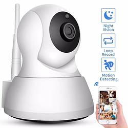 Поворотная Wi Fi IP камера 720p