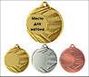Медаль ME006 с жетоном и лентой (50mm)