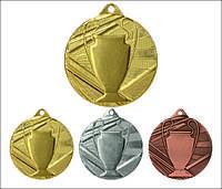 Медаль ME007 с лентой (50mm)