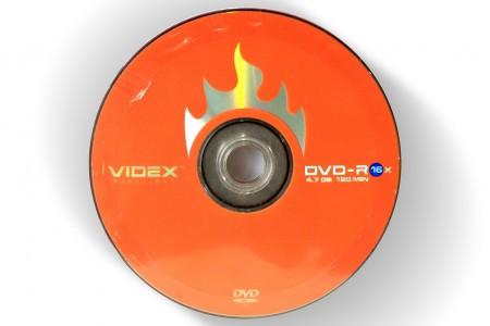 VIDEX DVD-R 4.7Gb 16x bulk 10