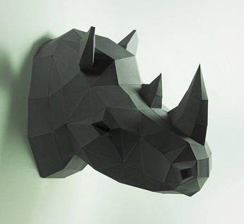 Papercraft Носорог