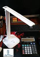 Лампа Led светодиодная настольная 30 диодов Feron DE1725 ферон 9вт белая
