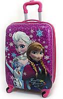 """Детский чемодан дорожный на колесах 18"""" «Холодное Сердце» Frozen-14, 520420"""