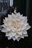 Большие цветы Георгин на фотозону диаметром 35 см