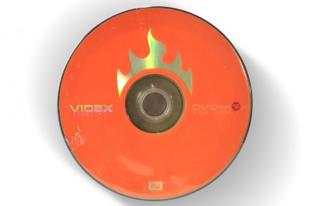 VIDEX DVD+R 4.7Gb 16x bulk 10