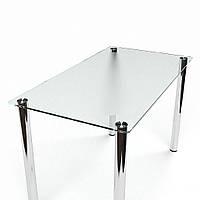 """Стеклянный обеденный стол """"СК-1"""" БЦ-Стол"""