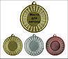 Медаль MMC0050 с жетоном и лентой (50mm)