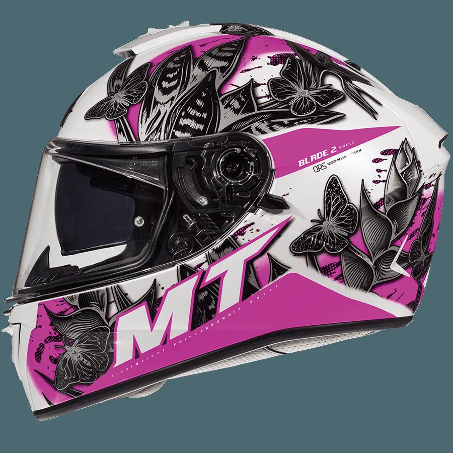 Мотошлем MT Blade 2 SV BREEZE Gloss Pearl Pink