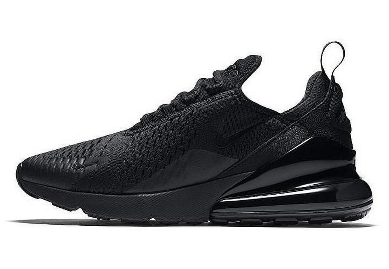 Женские кроссовки Nike Air Max 270 Black Черные
