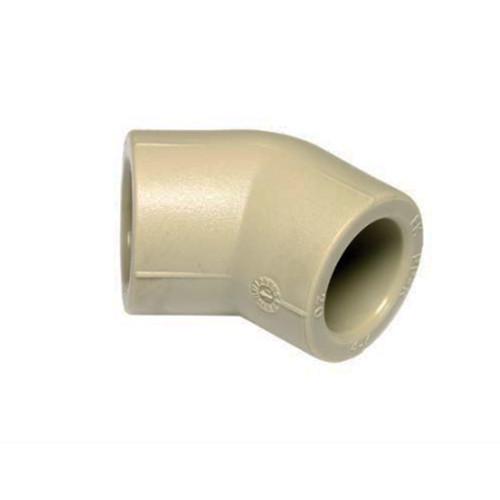 Колено (уголок) 45° диам. 50 мм Wavin Ekoplastik