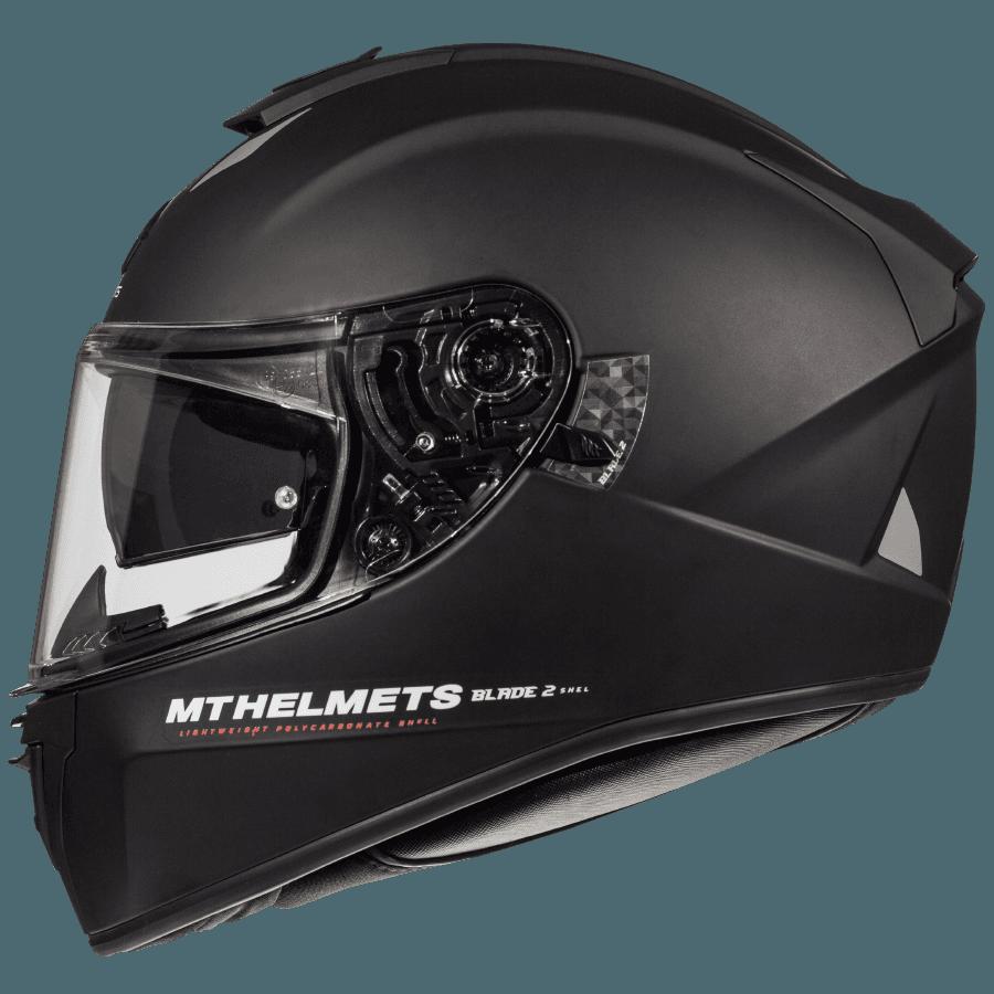 Мотошлем MT Blade 2 SV Solid Matt Black
