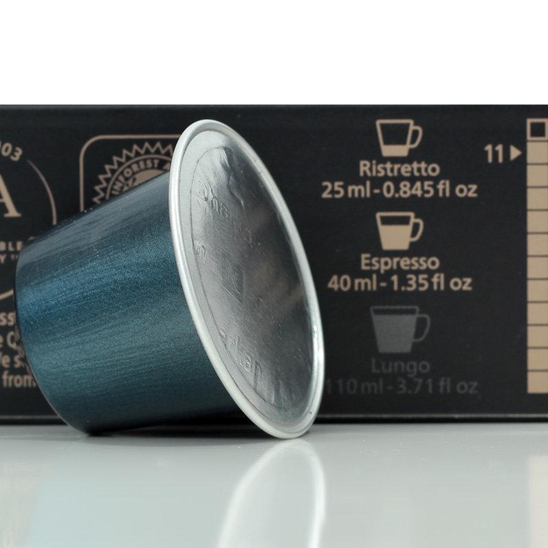 Кофе в капсулах Nespresso Dharkan 11 (без тубуса 10 шт.) Швейцария оригинал Неспрессо