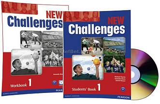 Английский язык / New Challenges / Student's+Workbook+CD. Учебник+Тетрадь (комплект с диском), 1 /Pearson