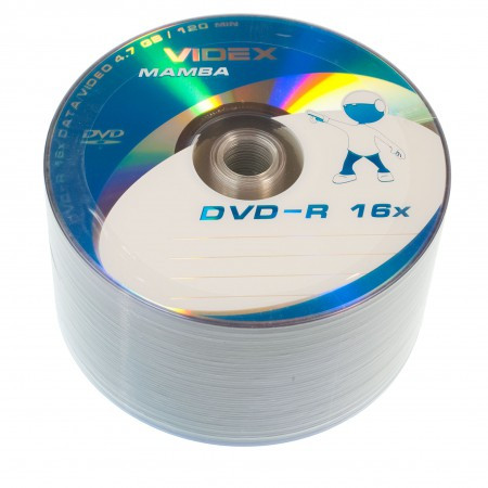 Videx Mamba DVD-R 4.7Gb 16x bulk 50