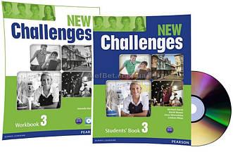 Английский язык / New Challenges / Student's+Workbook+CD. Учебник+Тетрадь (комплект с диском), 3/Pearson