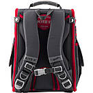 Рюкзак школьный трансформер Kite Education Hot Wheels 0.95 кг 35x25.5x13 см 11 л Темно-серый (HW19-500S), фото 3