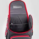 Рюкзак школьный трансформер Kite Education Hot Wheels 0.95 кг 35x25.5x13 см 11 л Темно-серый (HW19-500S), фото 6