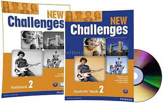 Английский язык / New Challenges / Student's+Workbook+CD. Учебник+Тетрадь (комплект с диском), 2/Pearson
