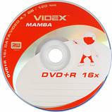 Videx Mamba DVD+R 4.7Gb 16x bulk 50, фото 2