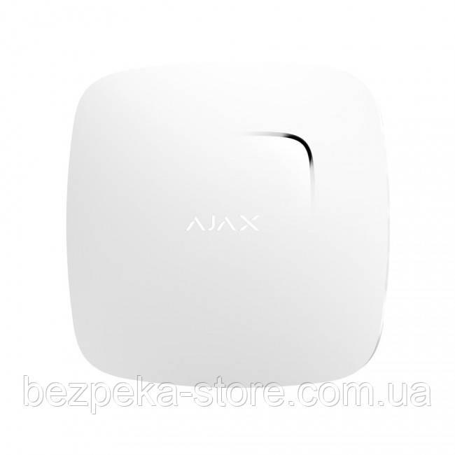 Беспроводной датчик детектирования дыма Ajax FireProtect plus (Black/White)