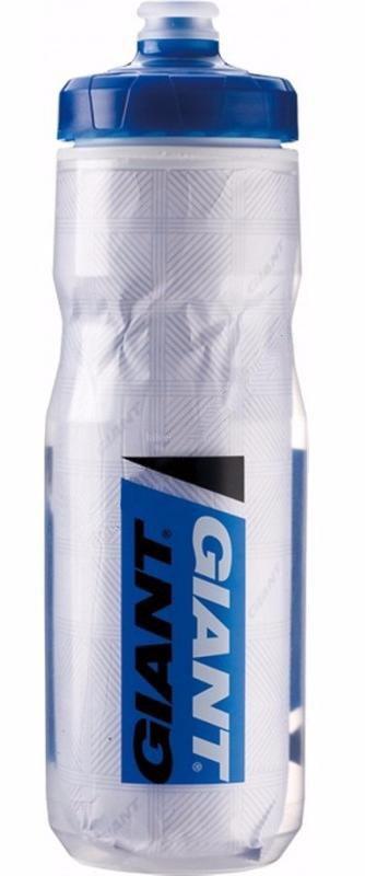 Фляга GIANT Pour Fast Evercool 600мл, прозр/чёрн ТЕРМО