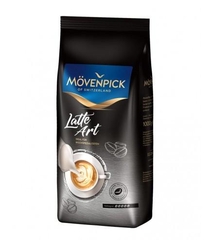 Кофе в зернах Movenpick Latte Art 1 кг. Германия