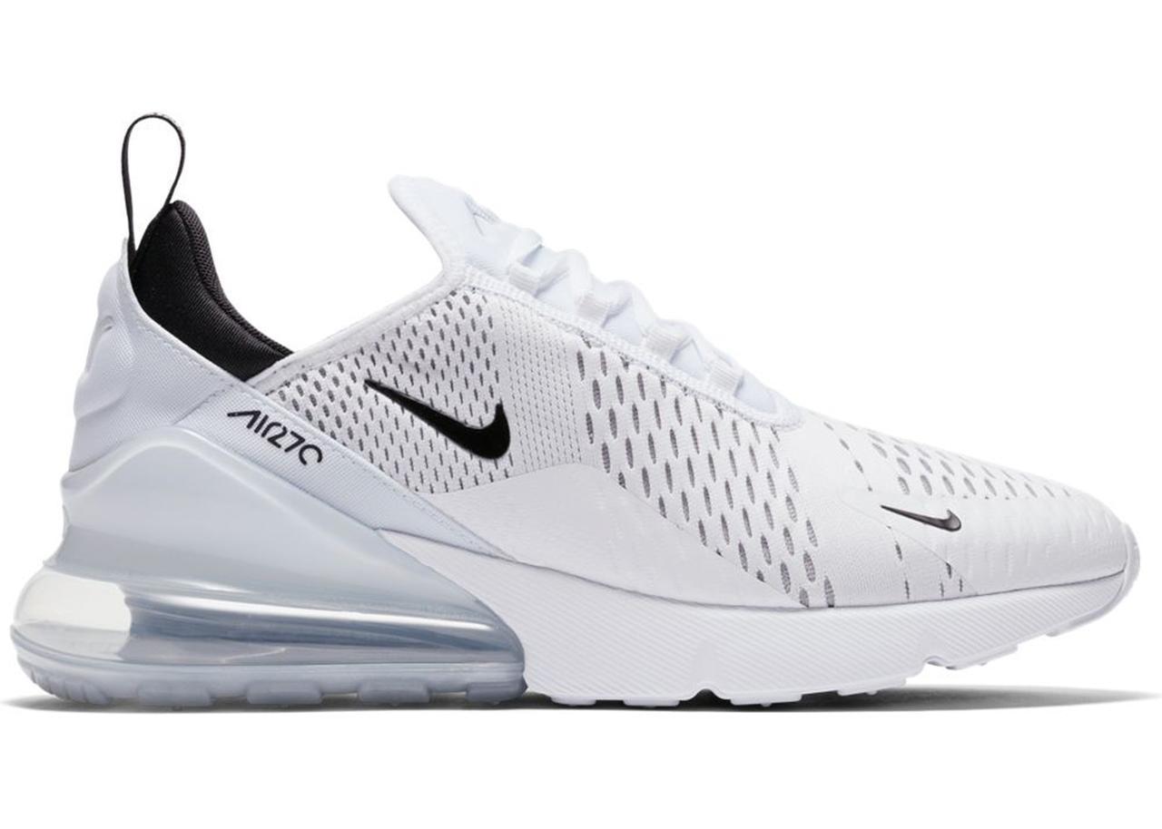 9229ca03 Кроссовки Nike Air Max 270 White Black Белые женские купить цена в ...